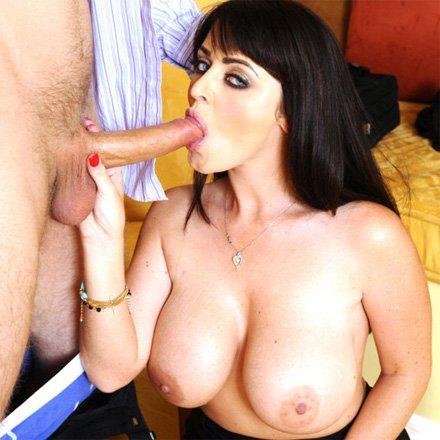 Amateur Big Tit Blowjob